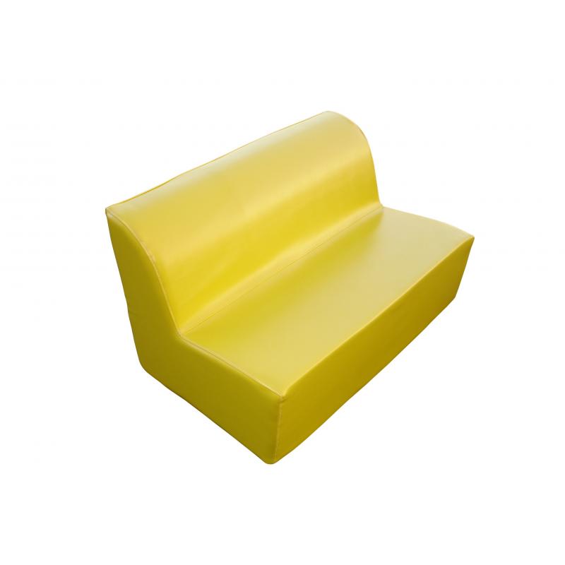 banquette mousse enfant 2 pl ht assise 25 cm. Black Bedroom Furniture Sets. Home Design Ideas